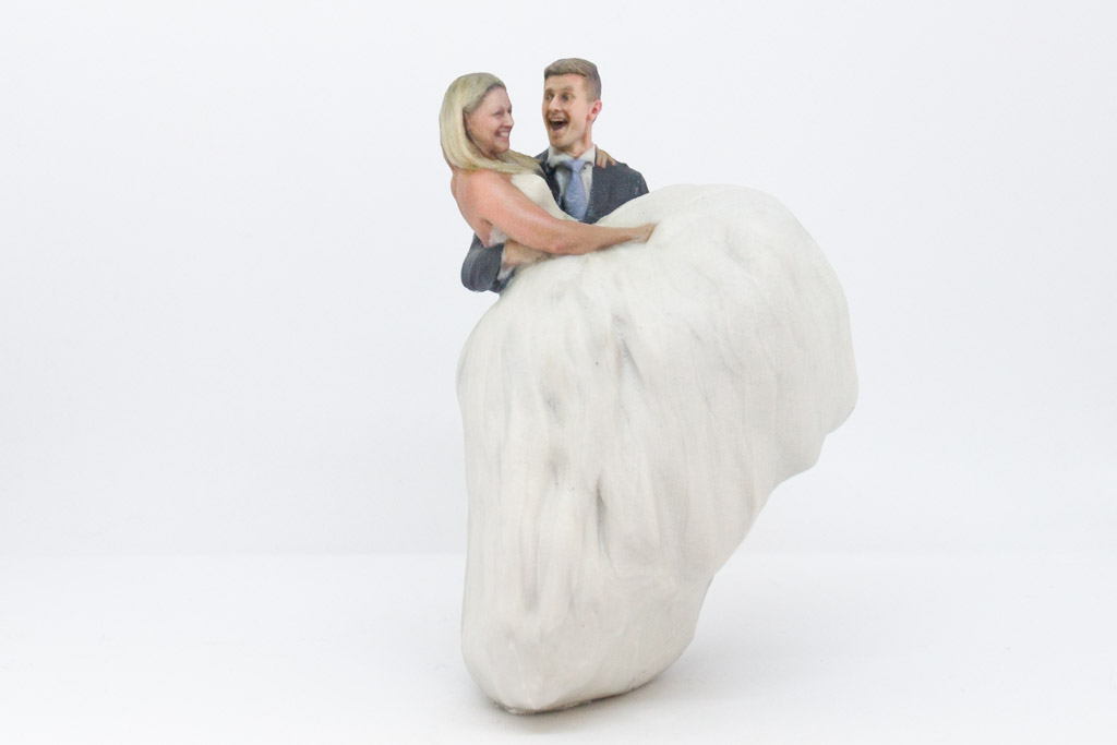 Alex and Dawn Wedding Topper