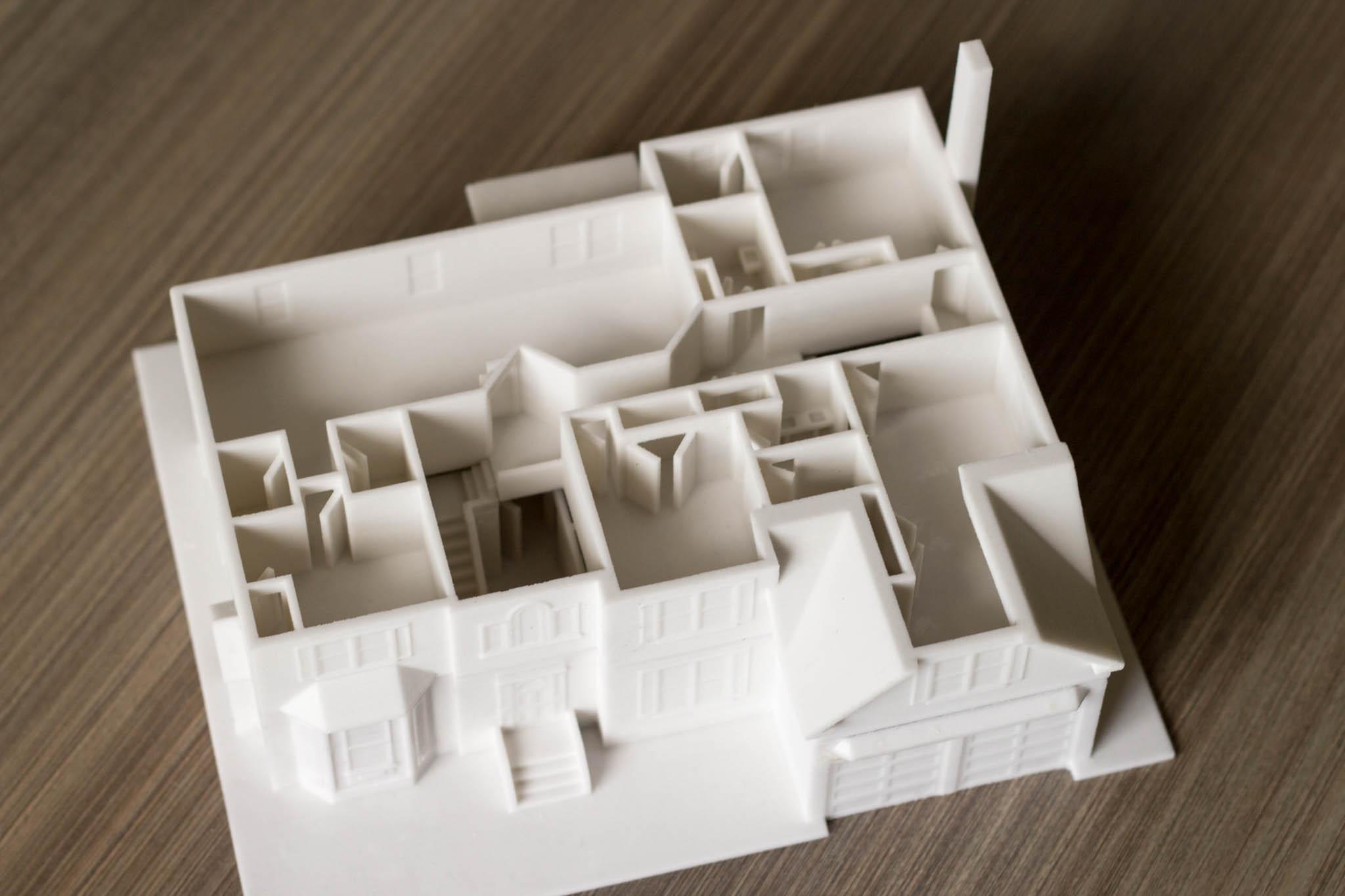 3D Printed Floor Plan